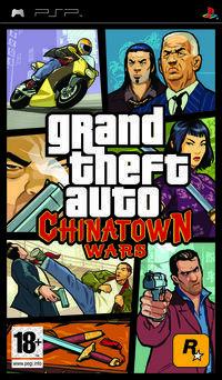 Portada oficial de Grand Theft Auto: Chinatown Wars para PSP