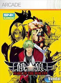 Portada oficial de Garou: Mark of the Wolves XBLA para Xbox 360
