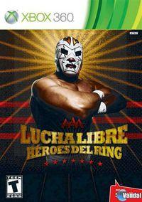 Portada oficial de Lucha Libre AAA Héroes del Ring para Xbox 360