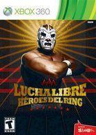 Portada oficial de Lucha Libre AAA H�roes del Ring para Xbox 360