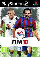 Portada oficial de FIFA 10 para PS2