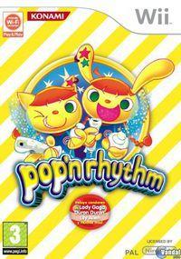 Portada oficial de pop n' rhythm para Wii