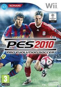 Portada oficial de Pro Evolution Soccer 2010 para Wii