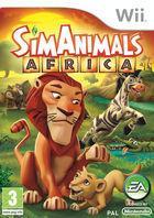 Portada oficial de SimAnimals Africa para Wii