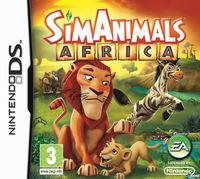 Portada oficial de SimAnimals Africa para NDS