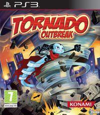 Portada oficial de Tornado Outbreak para PS3