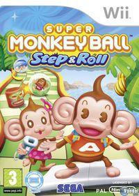 Portada oficial de Super Monkey Ball Step and Roll para Wii