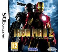 Portada oficial de Iron Man 2 para NDS