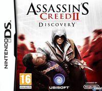 Portada oficial de Assassin's Creed 2: Discovery para NDS