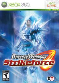 Portada oficial de Dynasty Warriors Strikeforce para Xbox 360