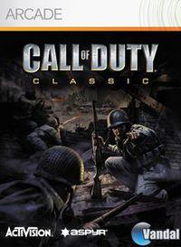 Portada oficial de Call of Duty Classic XBLA para Xbox 360