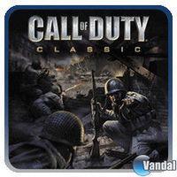 Portada oficial de Call of Duty Classic PSN para PS3