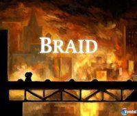Portada oficial de Braid PSN para PS3