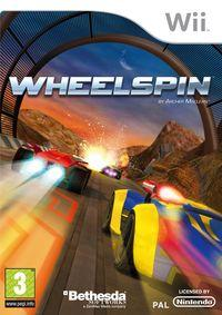 Portada oficial de Wheelspin para Wii