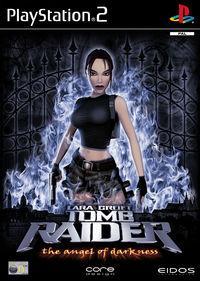 Portada oficial de Tomb Raider: El Ángel de la Oscuridad para PS2