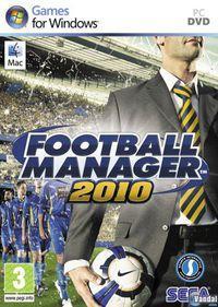 Portada oficial de Football Manager 2010 para PC