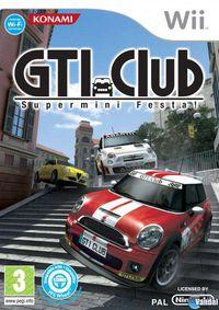 Portada oficial de GTI Club Supermini Festa! para Wii
