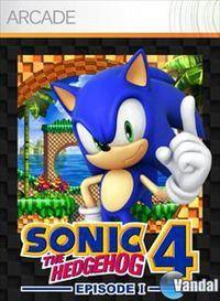 Portada oficial de Sonic the Hedgehog 4: Episode 1 XBLA para Xbox 360