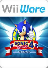 Portada oficial de Sonic the Hedgehog 4: Episode 1 WIiW para Wii