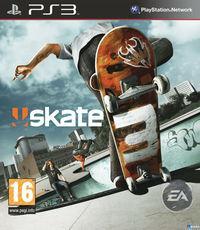 Portada oficial de Skate 3 para PS3