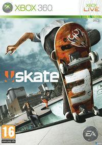 Portada oficial de Skate 3 para Xbox 360