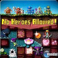 Portada oficial de No Heroes Allowed para PSP