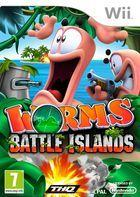 Portada oficial de Worms: Battle Islands para Wii