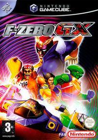 Portada oficial de F-Zero GX para GameCube