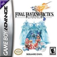 Portada oficial de Final Fantasy Tactics Advance para Game Boy Advance