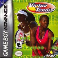 Portada oficial de Virtua Tennis para Game Boy Advance
