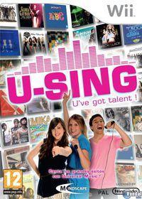 Portada oficial de U-SING para Wii