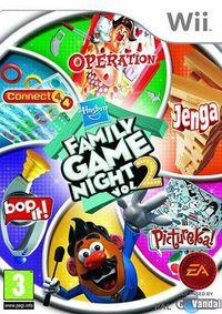 Portada oficial de Hasbro Family Game Night 2 para Wii