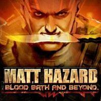 Portada oficial de Matt Hazard: Blood Bath and Beyond PSN para PS3