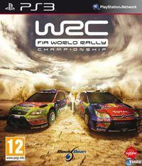 Portada oficial de World Rally Championship 2010 para PS3