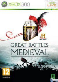 Portada oficial de HISTORY Great Battles Medieval para Xbox 360