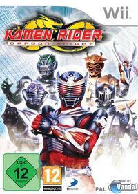 Portada oficial de Kamen Rider: Dragon Knight para Wii