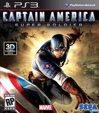 Portada oficial de Capitán América: Supersoldado para PS3