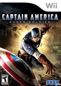 Portada oficial de Capitán América: Supersoldado para Wii