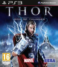 Portada oficial de Thor: Dios del Trueno para PS3