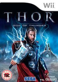Portada oficial de Thor: Dios del Trueno para Wii