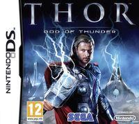 Portada oficial de Thor: Dios del Trueno para NDS