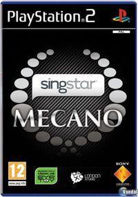 Portada oficial de Singstar Mecano para PS2