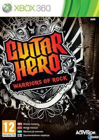 Portada oficial de Guitar Hero: Warriors of Rock para Xbox 360