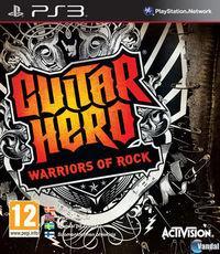 Portada oficial de Guitar Hero: Warriors of Rock para PS3