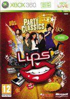 Portada oficial de Lips Party Classics para Xbox 360