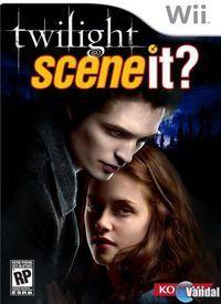 Portada oficial de Scene It? Twilight para Wii
