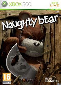 Portada oficial de Naughty Bear para Xbox 360