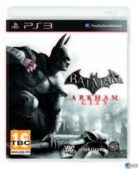 Portada oficial de Batman: Arkham City para PS3