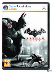 Portada oficial de Batman: Arkham City para PC