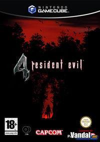 Portada oficial de Resident Evil 4 para GameCube